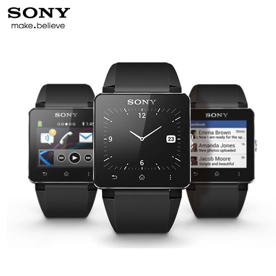 SONY SmartWatch 2 SW2 經典版原廠防水藍芽智慧手錶 (黑色矽膠錶帶) /觸控藍芽手錶/Android 4.0/NFC配對/藍芽/手錶/神腦公司貨