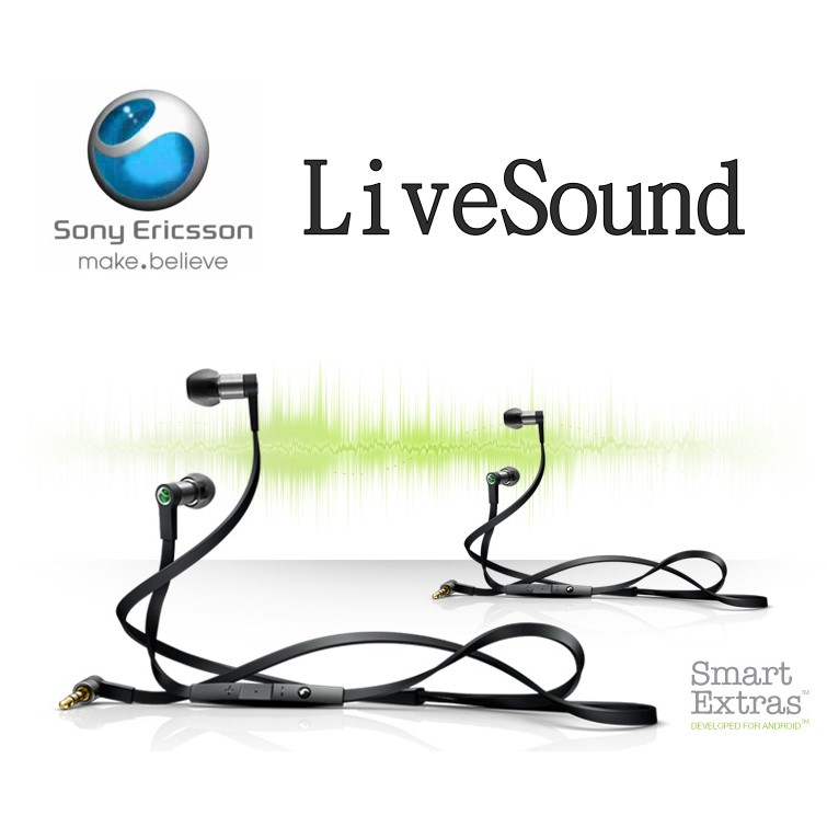 Sony Ericsson LiveSound 立體聲原廠耳機 Hi-Fi 線控耳機 MH-1/MH1 (3.5mm)(裸裝) WT13i/Xperia Arc LT15i/LT18i/ST18i/MK16i/WT19i