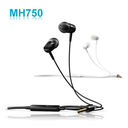 Sony 立體聲原廠耳機 MH-750/MH750 (3.5mm) Xperia Z1 C6902 (i1 Honami)/Xperia S LT26I/Xperia U ST25i/Xperia P LT22/Xperia Sola MT27i/Xperia ion LT28i/Neo L MT25i/Xperia acro s LT26w