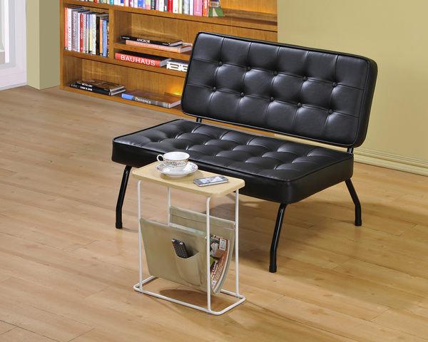 生活大發現-MIT DIY傢俱-雙人沙發/皮沙發/沙發椅/黑色