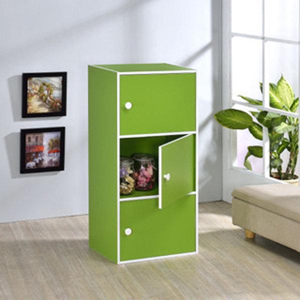 生活大發現-DIY精品-台灣製造/品質保證/粉彩三門櫃/組合櫃/收納櫃/置物櫃/書櫃/書架/高低櫃/展示櫃/此為綠色下標區