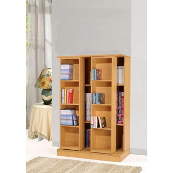 生活大發現-DIY家具全新小尺寸日式雙排活動書櫃全鋼鐵鋼珠滑輪不偷料木板/書櫃/組合櫃/高低櫃/展示櫃/此為木紋下標區