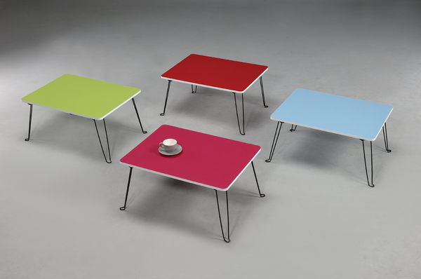 生活大發現-- DIY家具 台灣製 60*45便利小桌 可收納不佔空間 7色可選