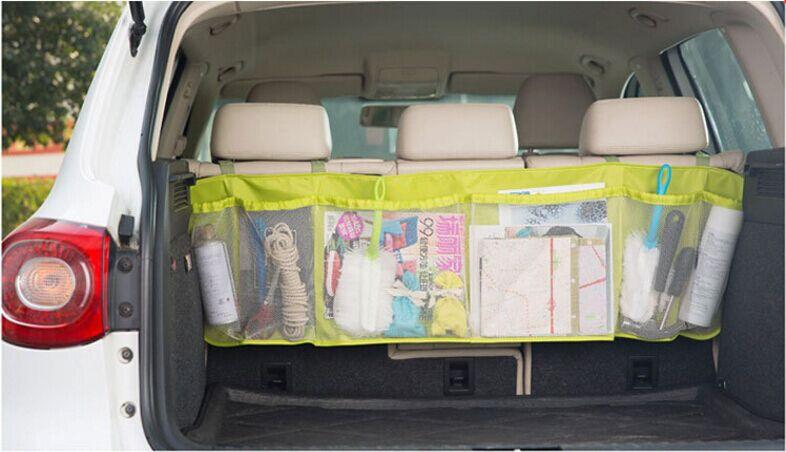 《任意門親子寶庫》汽車 超大容量多網格【B060】休旅車椅背收納袋