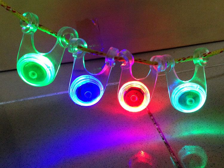 【露營趣】中和 TNR-053 閃爍警示燈 營繩燈 自行車尾燈 車燈 露營燈 營釘燈 帳篷燈 夜間反光