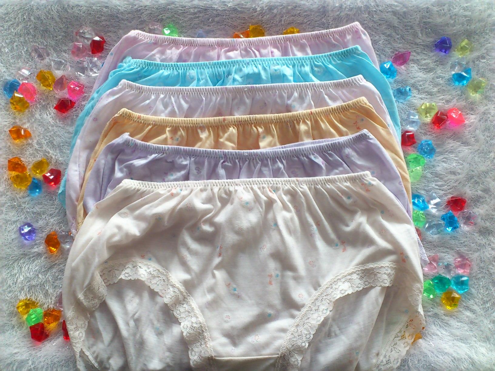 【3件組包】孕婦褲媽媽褲棉質三角超高腰加大尺碼內褲M6673俏麗一身