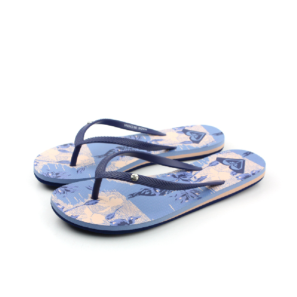ROXY 夾腳拖 拖鞋 淺藍 女款 no015