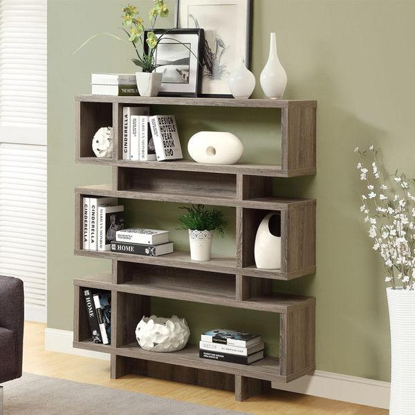 康迪仕摩登書櫃(深木色) /收納櫃 / DIY組合家具