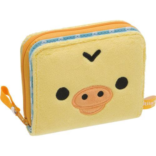 日本代購預購 日本拉拉熊 懶懶熊 小雞 皮夾零錢包 滿600免運 720-289 日本代購預購