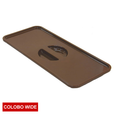 COLOBO WIDE收納盒盒蓋 BR 深褐