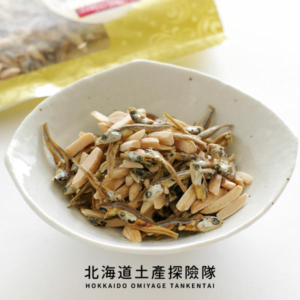 「日本直送美食」[北海道海產] 杏仁小魚乾 ~ 北海道土產探險隊~