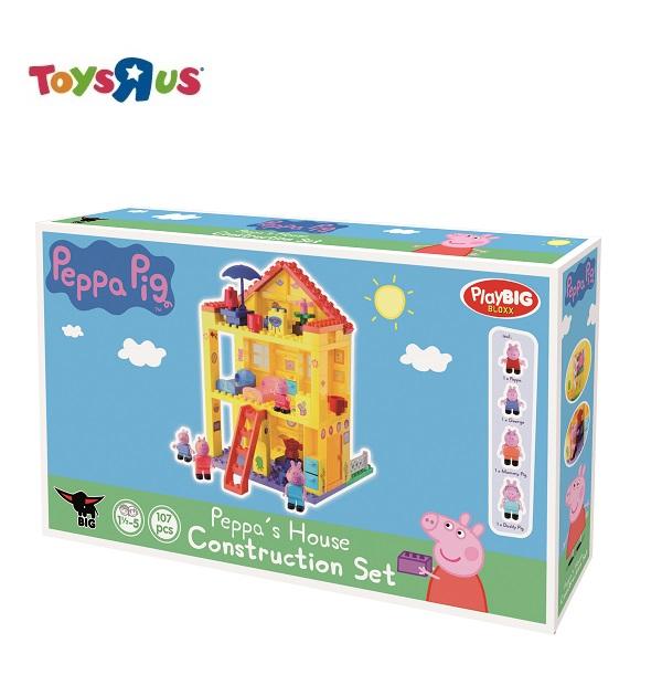 玩具反斗城 PEPPA PIG 粉紅豬小妹豪華房屋積木組