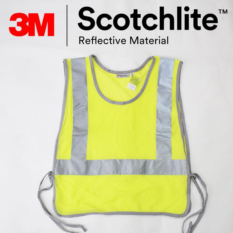 【safetylite安心生活館】綁帶式網紗安全反光背心-~3M Scotchlite限定優惠款