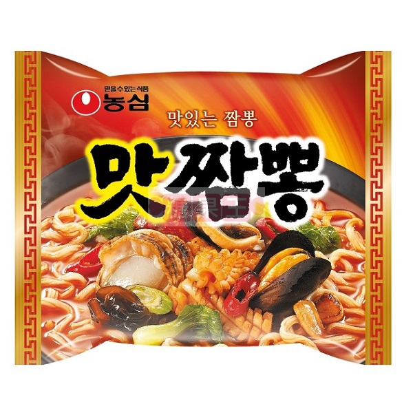 韓國泡麵 農心 辣味海鮮炒碼麵 (50週年限定版)