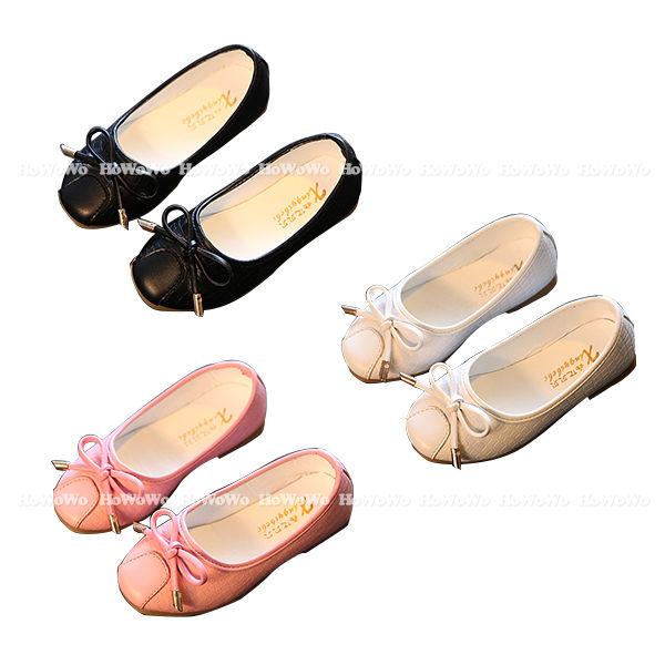寶寶鞋 蝴蝶結PU學步鞋 公主鞋(15.5-18cm) KL016