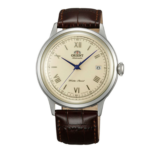 Orient 東方錶FAC00009N DATE Ⅱ機械腕錶錶/米色面40.5mm