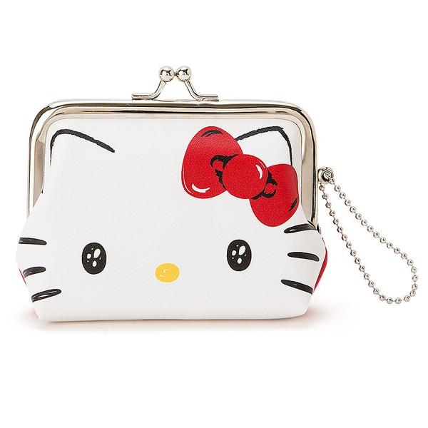 X射線【C546024】Hello Kitty零錢口金包,收納包/文具包/隨身包/手提包/零錢包/交換禮物/禮品