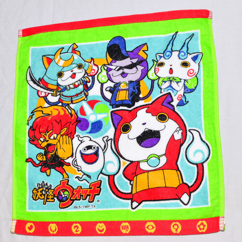 妖怪手錶 浴巾 大毛巾 兩邊加強 日本正版品