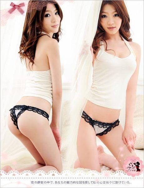 愛的蔓延 芭比公主‧甜漾誘人丁字褲(純真白)DJA-21101261-3