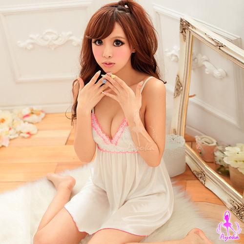 愛的蔓延 水漾芭比!甜美二件式可愛睡衣睡襯衣 UNA-11020157