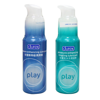 愛的蔓延 英國Durex《杜蕾絲〞特級+冰感〞》潤滑液