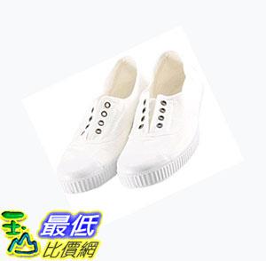 [COSCO代購如果沒搶到鄭重道歉] Victoria 女基本款帆布鞋 Ingelsa Elastico 系列 白色 _W953367