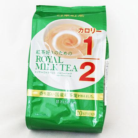 【敵富朗超巿】日東1/2皇家奶茶-綠
