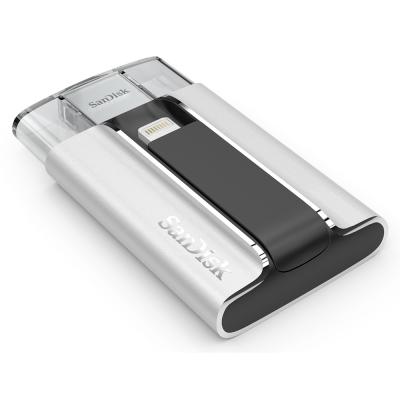 出清 可傑  SanDisk iXpand OTG 16GB 雙用隨身碟 支援iPhone/iPad 公司貨
