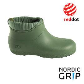 Nordic Grip 北歐防滑保暖雨靴│雨鞋│雪鞋 (榮獲德國紅典設計獎) 橄欖綠 NG10A