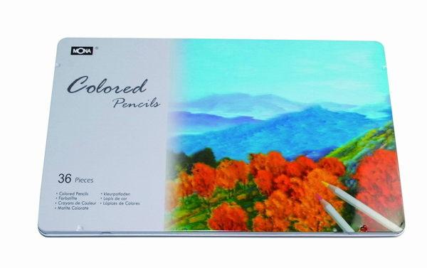 萬事捷 4490-36 MONA 80507 油性色鉛筆-36色入 / 盒
