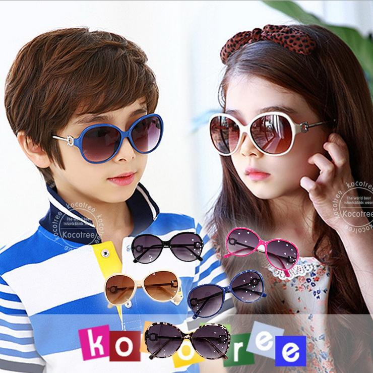 Kocotree◆貴族質感圓鏤空造型兒童紫外線護目太陽眼鏡