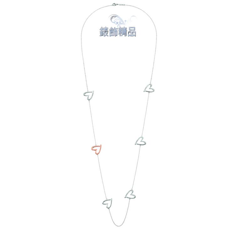 【錶飾精品】CK飾品 ck女性項鍊 長鍊 joyous歡愉系列316L白鋼 5銀+1玫瑰金 KJ2XPN200100