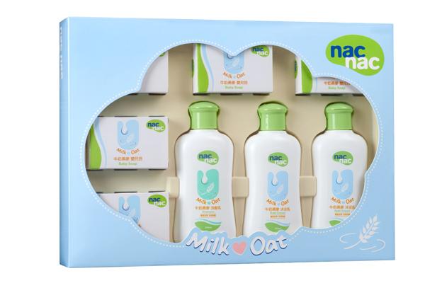 nac nac - 牛奶燕麥潔膚禮盒