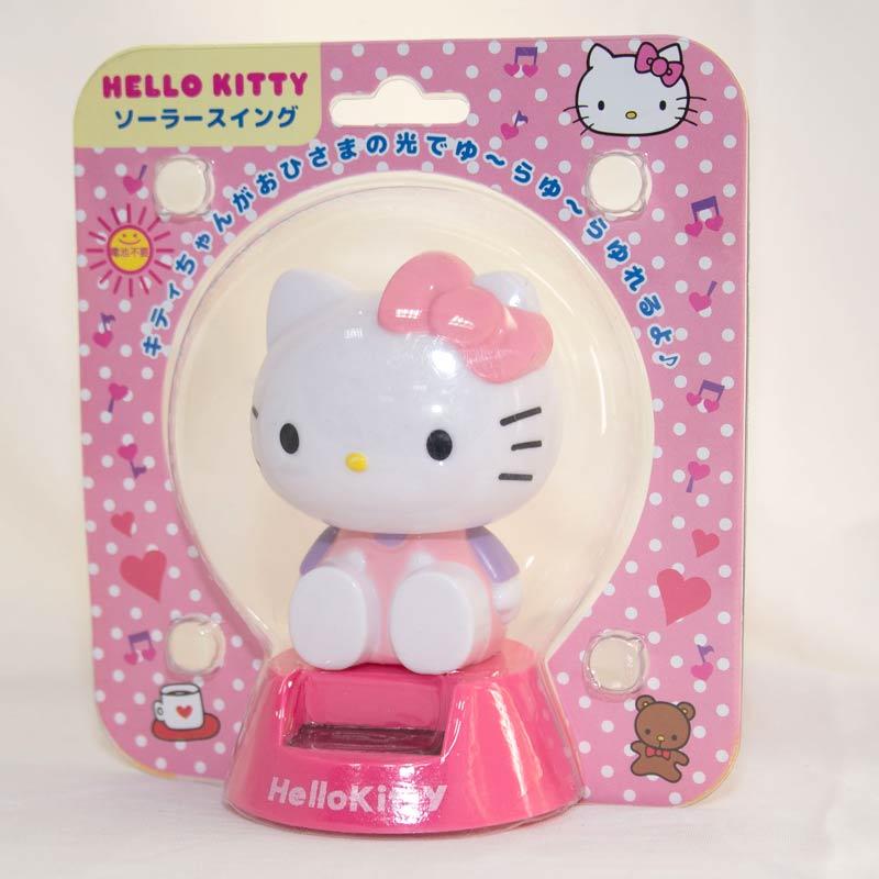 Hello Kitty 太陽能 搖頭娃娃 日本帶回 正版商品