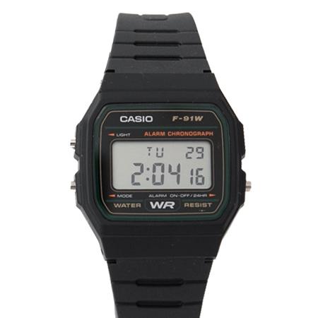 CASIO卡西歐 輕薄設計方型綠框多功能電子錶 休閒運動款 中性款式 柒彩年代【NE1862】原廠公司貨