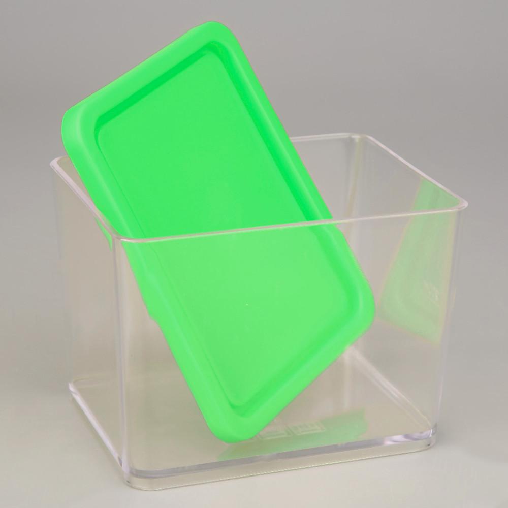 可以疊加有蓋的塑膠廚房儲物罐密封罐食品儲存保鮮盒