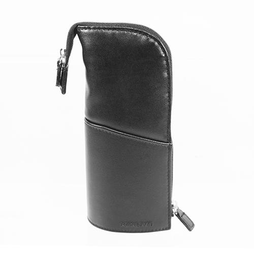 【KOKUYO】  多功能PU直立式筆袋(黑色) PC006-D
