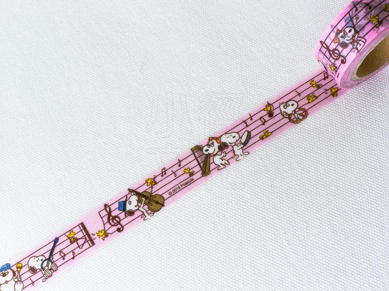 *小徑文化*日本進口 Cute Model 和紙膠帶 - Snoopy' Family ( 82828 )