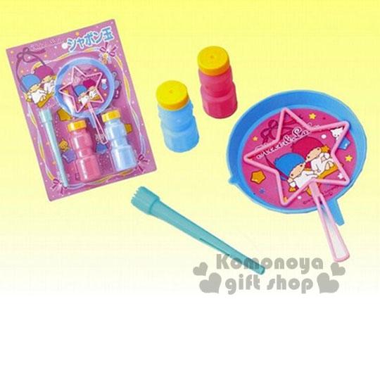〔小禮堂嬰幼館〕雙子星 日製吹泡泡玩具組《粉.星星》適合3歲以上兒童