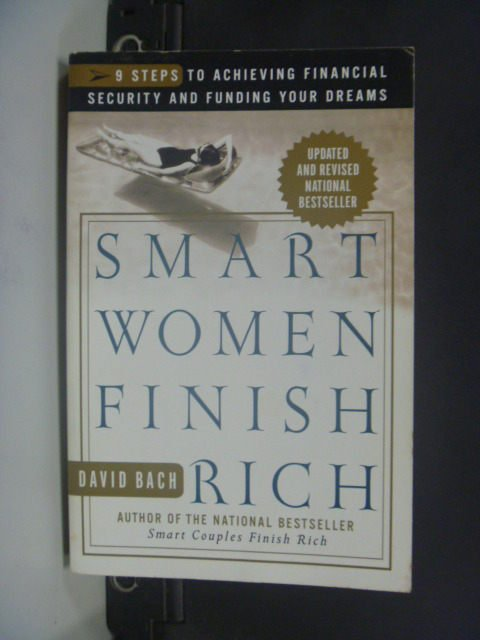 【書寶二手書T9/投資_JET】Smart Women Finish Rich_Bach, David