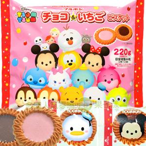 日本BOURBON北日本 tsum tsum 巧克力餅乾 [JP380]