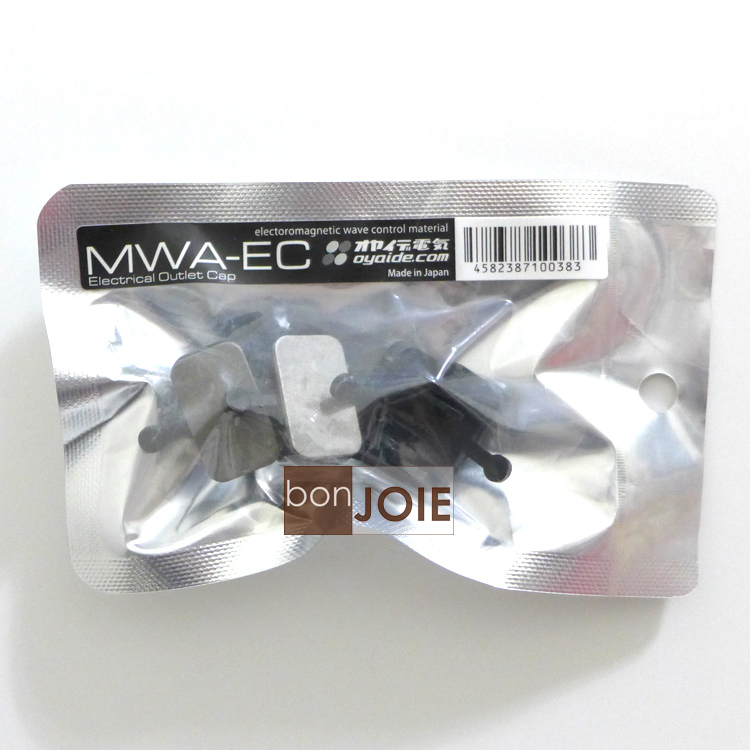 ::bonJOIE:: 日本進口 日本製 Oyaide MWA-EC 防塵蓋 (4入組) 壁插排插插座專用 抗干擾 電磁波吸收 小柳出電氣商會