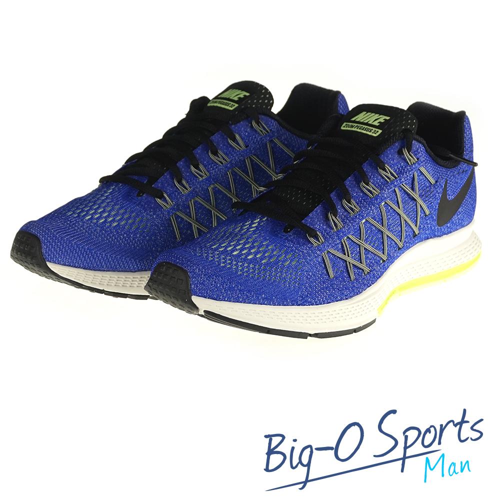 NIKE 耐吉 NIKE AIR ZOOM PEGASUS 32 專業慢跑鞋 男 749340407 Big-O Sports