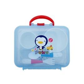 PUKU藍色企鵝 - 攜帶式野餐餐盤組 (5件入)