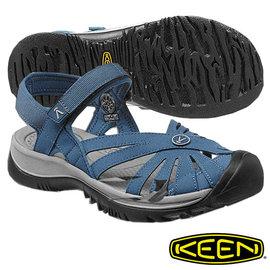 Keen Rose Sandal 女 輕量護趾 水陸兩用鞋 藍/灰 1012546