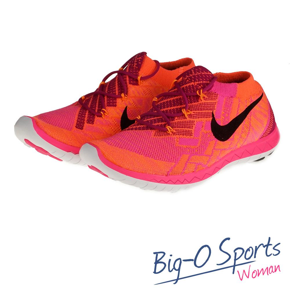 促銷品 NIKE 耐吉 WMNS NIKE FREE 3.0 FLYKNIT  慢跑鞋 女 718420600 Big-O Sports