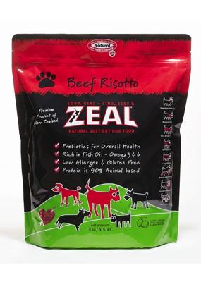 ★優逗★ZEAL 紐西蘭天然寵物食品 牛肉配方 犬糧 1LB/1磅