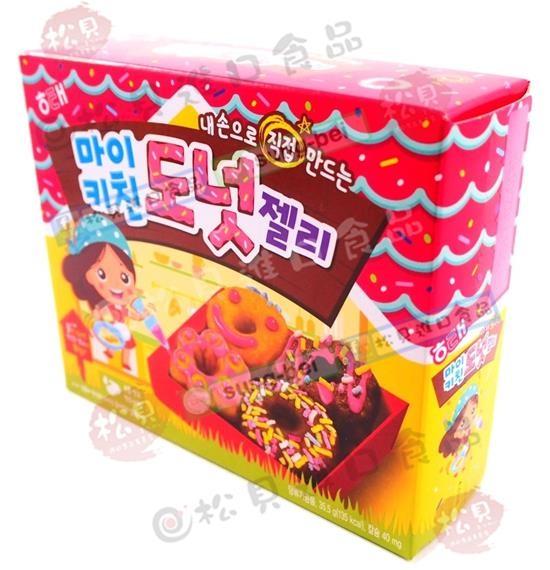 海太DIY甜甜圈造型軟糖36g【8801019007408】