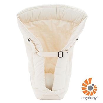 ★衛立兒生活館★美國Ergobaby 貼心嬰兒護墊-自然白