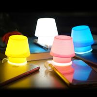 【 樂客生活 】手機燈/創意小夜燈 蘋果iPhone手機小台燈支架燈罩彩色燈罩生日禮物贈品聖誕禮物